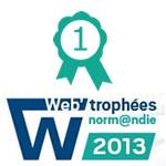 Web'Trophées : Les meilleurs sites web de Normandie récompensés<