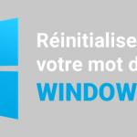VPS Windows OVH : Réinitialiser le mot de passe administrator<